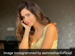 Aamna Sharif Looks Like Pure Sunshine In A Pretty Yellow Midi Dress