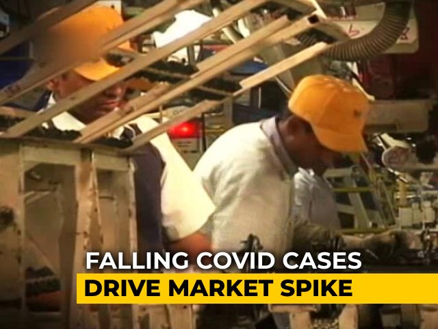 Video : Markets Jump As COVID Cases Dip