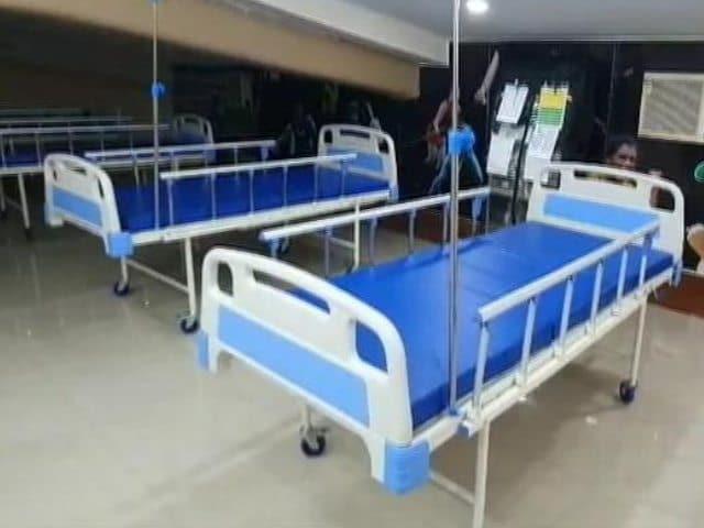 Video : Field Hospital At India's Largest Football Stadium