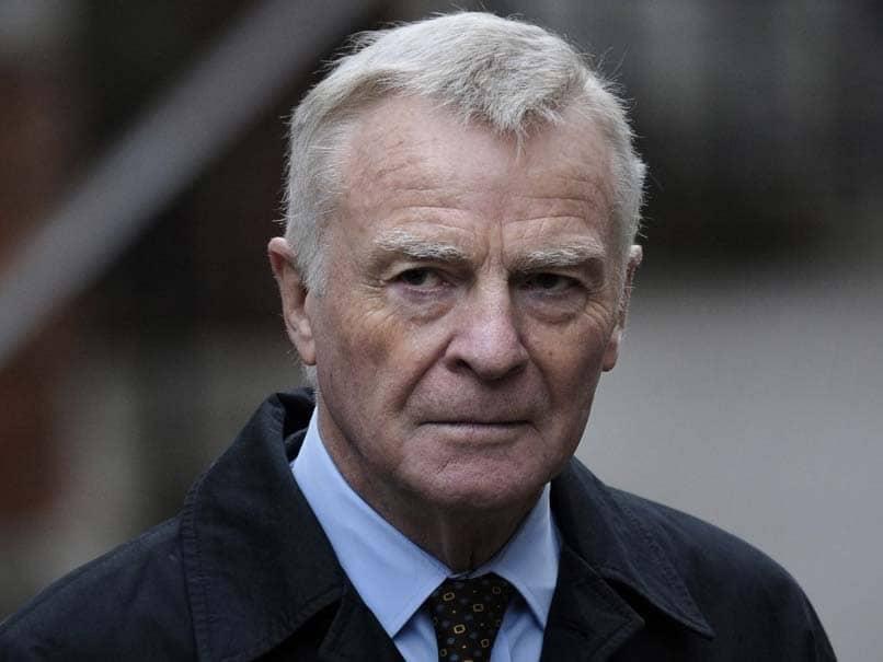 Former FIA President Max Mosley Dies Aged 81