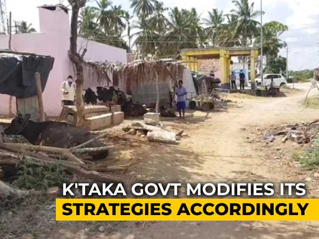 Video : Karnataka On Watch, Reworks Strategy As Covid Spreads To Rural Districts
