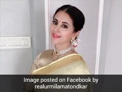 Urmila Matondkar's #MaskUp Tweet As Maharashtra Covid Cases Slide