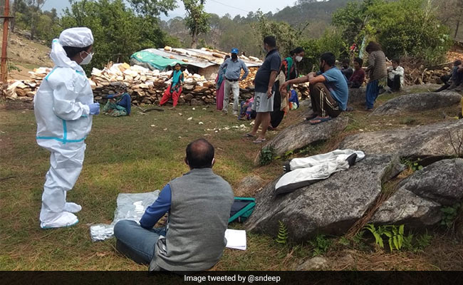 Tribals In Uttarakhand Village Flee Into Forest To Escape Covid Testing