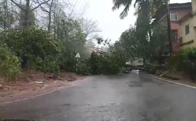 Cyclone Tauktae Hits Power Supply In Goa Amid Strong Winds, Rain