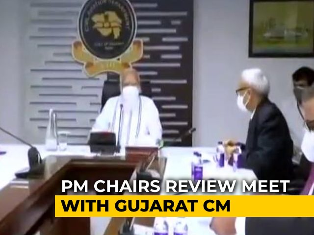 Video : Rs 1,000 Crore For Cyclone-Hit Gujarat, Announces PM After Aerial Survey