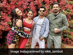 """<i>Khatron Ke Khiladi</i>: Nikki Tamboli Is Hanging Out With Her """"Favourite People"""" In Cape Town"""