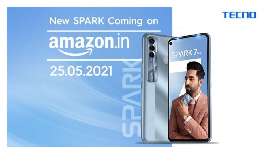 Tecno Spark 7 Pro भारत में 25 मई को होगा लॉन्च, इन खूबियों से होगा लैस