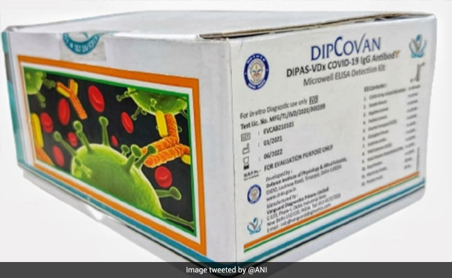 DRDO Develops Antibody Test Kit DIPCOVAN For Early Covid Detection
