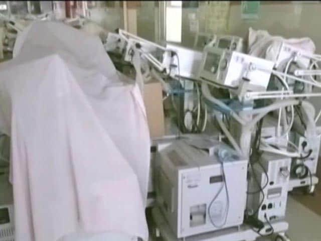 Video : The Ventilators Unused, Locked Up In Stores