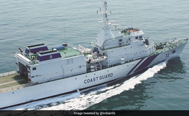 India Sends Help To Sri Lankan Navy To Douse Flames On Fire-Hit Vessel