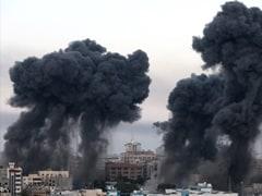 Gaza Conflict Highlights: Israeli Airstrike In Gaza Destroys Media Building