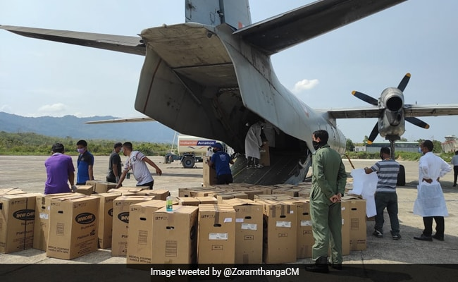 Mizoram Receives Oxygen Concentrators, Cylinders From Taiwan And Ireland