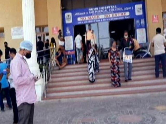 Video : Rajasthan Hospitals Facing Oxygen Shortage