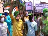 Video : Election Results: Trinamool Supporters Celebrate As Party Leads In Bengal