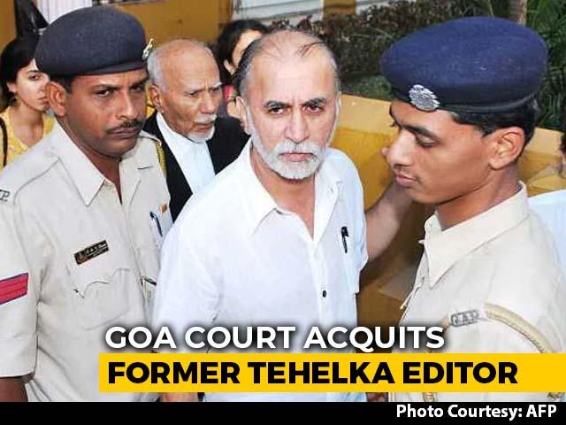 Video : Tarun Tejpal, Tehelka Founder, Acquitted In Rape Case By Goa Court