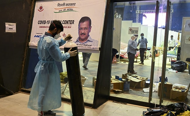 Delhi Sets Up System To Ensure Oxygen Supply For Those In Home Isolation
