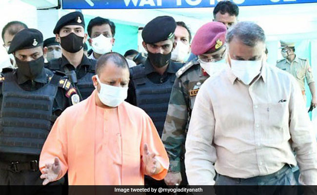 "UP ""Review"" Over, Top BJP Leader Tweets Praise For Yogi Adityanath"