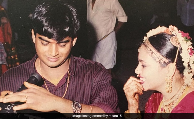 Madhavan And Sarita Birje Are Celebrating 22 Years Of Togetherness With Mushy Pics