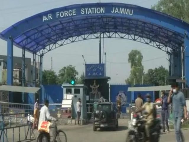 Video : In 1st Drone Strike At An Indian Military Base, 2 Blasts At Jammu Airport