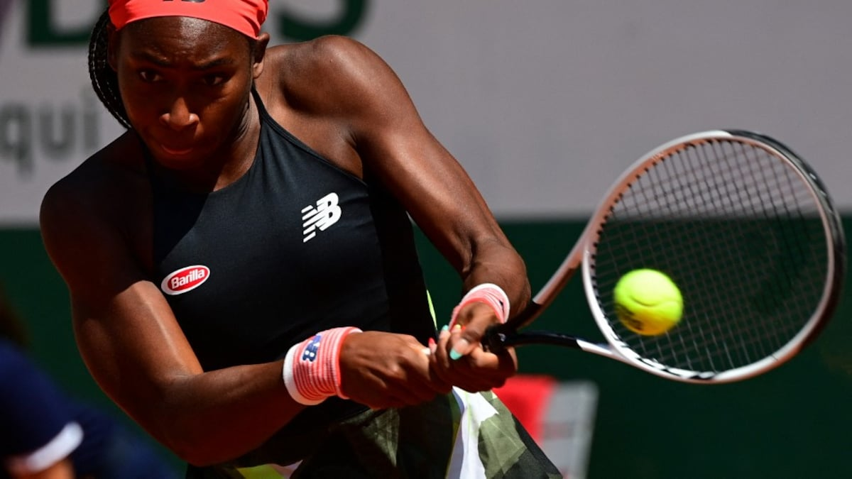 French Open: Coco Gauff becomes the youngest of the Grand Slam quarterfinals in 15 years  Tennis news