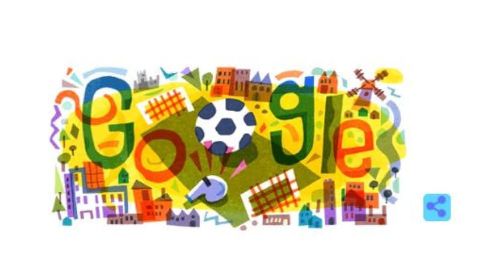 आज से UEFA Euro 2020 की शुरुआत, Google ने बनाया खास रंगीन Doogle