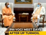 Video : Yogi Adityanath's One-Hour Meet With PM Modi Amid Talk Of UP Changes