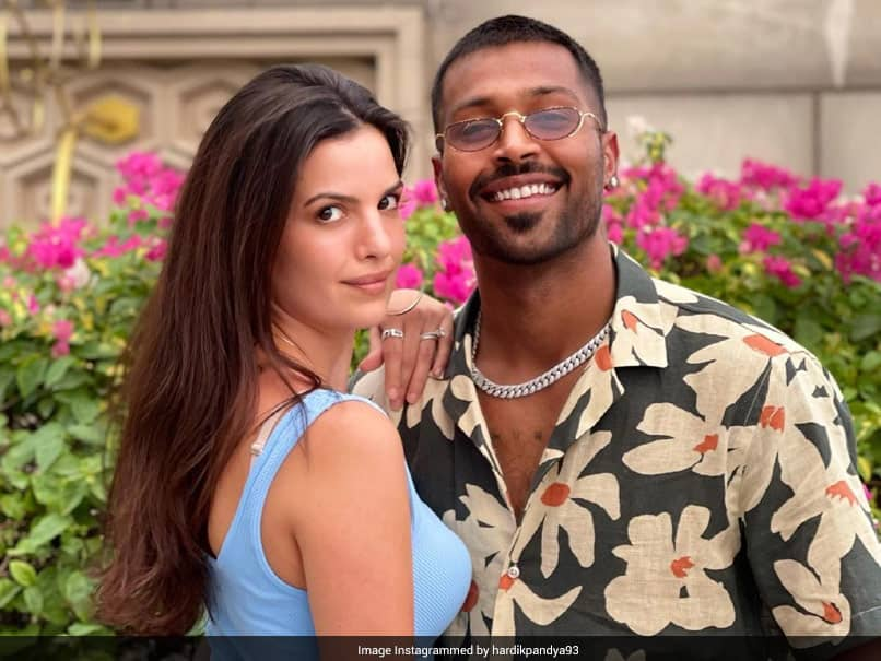 """Natasa Stankovic Approves Hardik Pandyas Eye-Boggling Look With """"Fiery"""" Comment. See Pic"""