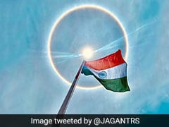 Hyderabad Witnesses Rare Sun Halo On Telangana Formation Day. See Photos