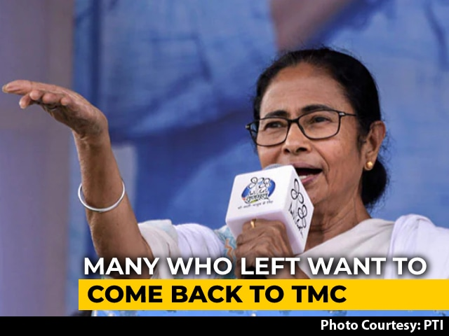 Video : Month After Trinamool Win, Defectors Who Joined BJP Queue Up To Return