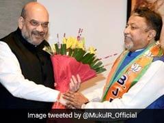 As BJP's Mukul Roy Skips Meet, Delhi Leadership In A Huddle
