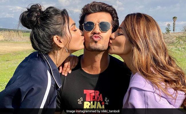 Khatron Ke Khiladi: Nikki Tamboli Shares Pics With Arjun Bijlani And Sana Makbul. Her ROFL Caption Takes The Cake