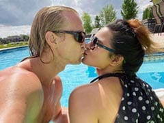 Aashka Goradia And Her Husband Set Instagram On Fire With A Kiss. See Pic