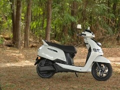 TVS iQube Electric Scooter Launched in Kochi; Priced At Rs. 1.24 Lakh