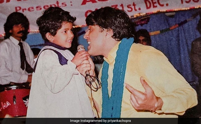 When Priyanka Chopra's Father 'Pulled Her Up Onto A Stage And Coaxed Her Into A Duet.' See Throwback Pic