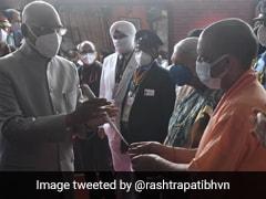 President Kovind Arrives In Lucknow For Two-Day Visit