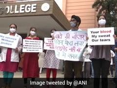 Protesting Madhya Pradesh Junior Doctors Get Hostel Eviction Notices
