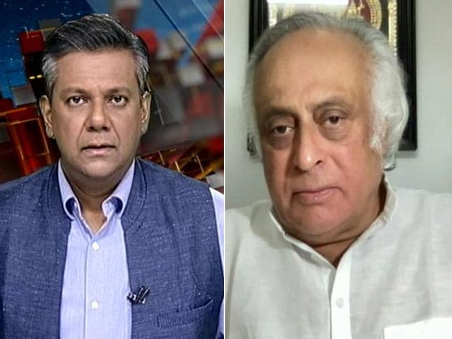 Video : Must Solve Leadership Issue One Way Or Another: Congress's Jairam Ramesh