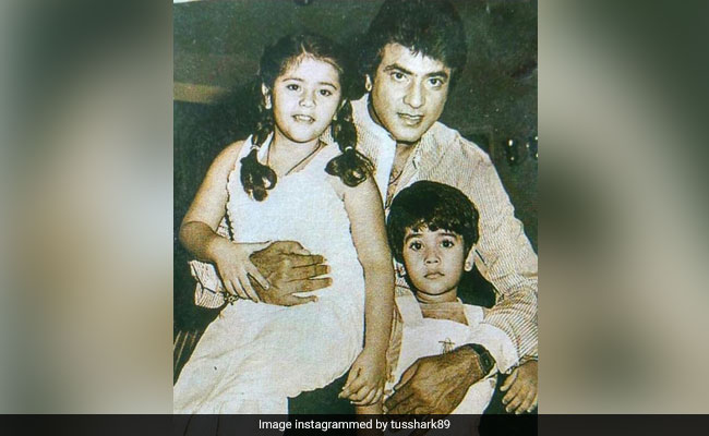 Tusshar Kapoor Is Busy Celebrating Father's Day Every Day