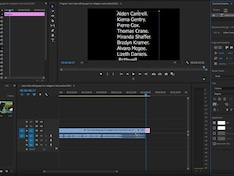How to Create End Credits Scrolling Text in Adobe Premiere Pro 2020: Tutorial