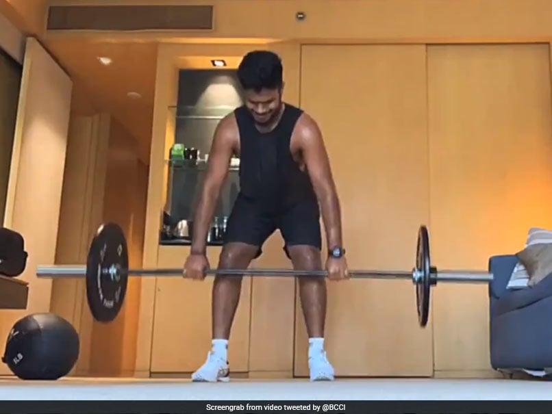 "Photo of Sri Lanka vs India: Sanju Samson Gives A Sneak Peek Into ""His Quarantine Life"" Ahead Of Sri Lanka Tour. Watch"