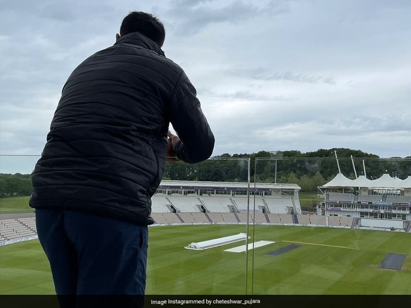 "Cheteshwar Pujara shares his ""Quarantine Room Views"" Cricket News"