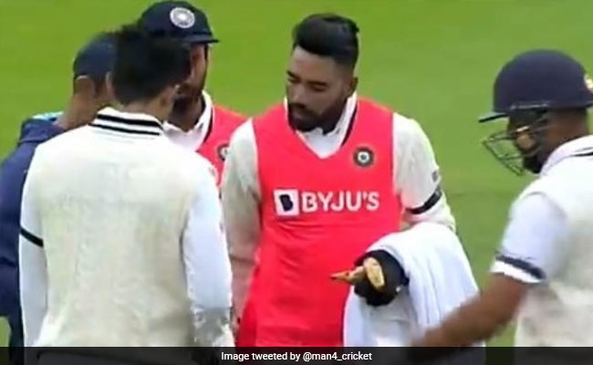 Watch Shubman Gill Get Stuck On His Helmet fron Kyle Jamieson Bouncer then Mohammed Siraj warm gesture won the hearts of fans worldwide WTC Final