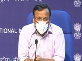 Video : Average Daily Covid Cases On A Steep Decline, Says Health Ministry
