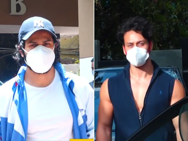 Video : Varun Dhawan And Tiger Shroff Never Skip Gym
