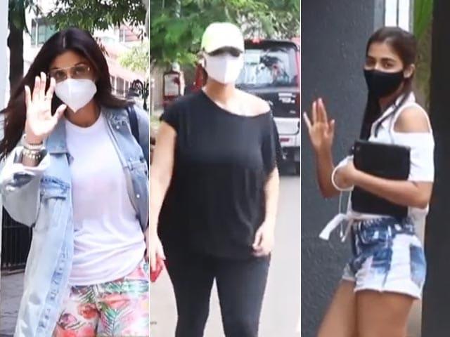 Video : Shilpa Shetty And Neha Dhupia's Day Out