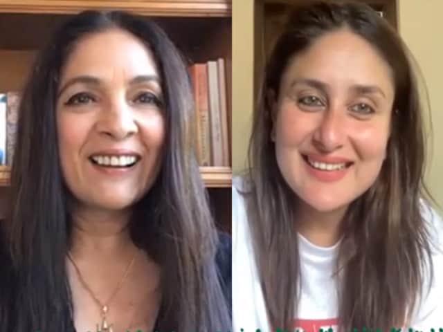Video : Kareena Kapoor As Interviewer, Neena Gupta Is Her Guest