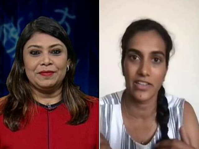 """Video : """"Watch Out For My Attack"""" At Tokyo Olympics, Says PV Sindhu"""