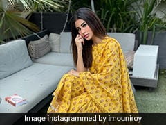 Mouni Roy Weaves Summer Magic In A Bright Yellow <i>Sharara</i> Suit