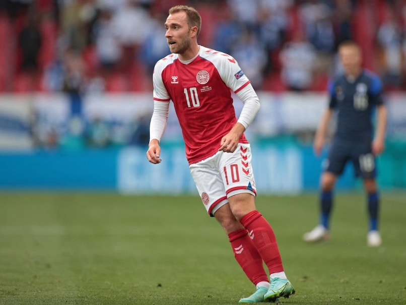 """Christian Eriksen """"Stable"""" After Euro 2020 Collapse, Sends """"Greetings To  Teammates""""   Football News"""