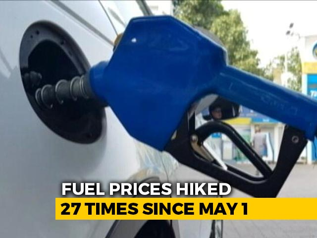Video : Fuel Prices Touch New Highs; Petrol Crosses Rs. 97/Litre Mark In Delhi